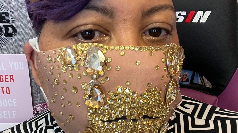 Gold Lip Mask