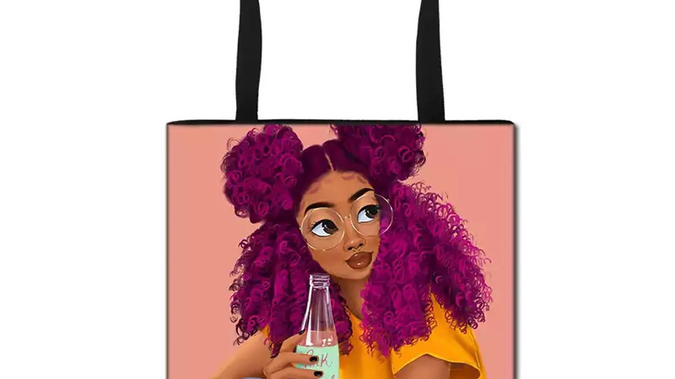 Purple Soda Pop Tote