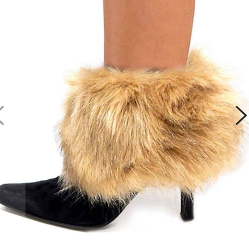Faux Fur Boot Covers