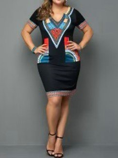 Aztec Mini Dress