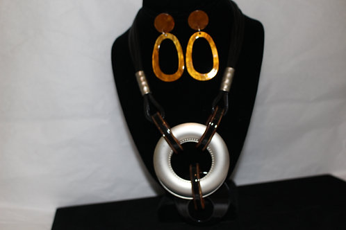Life Ring Necklace Set