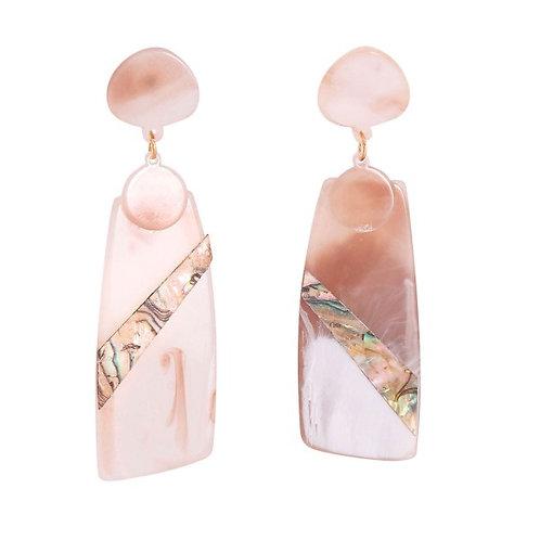Pink Drop Earrings