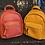 Thumbnail: Faux Leather Mini Backpack