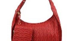 2 in 1 Faux Skin Handbag