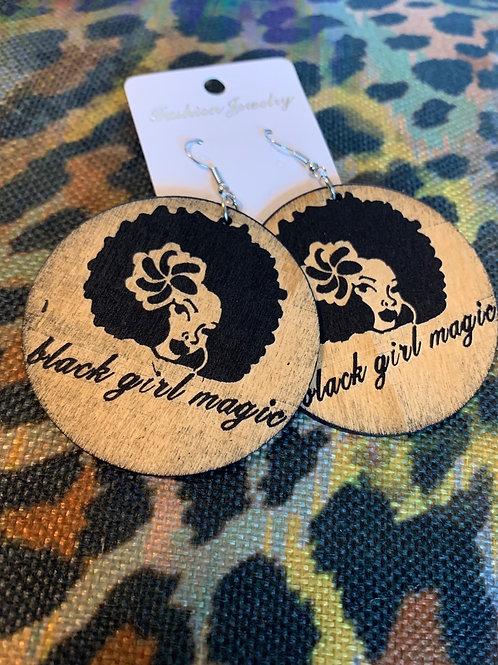 Black Girl Magic Earrings
