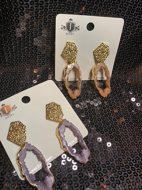 Gemrock Cutout Earrings