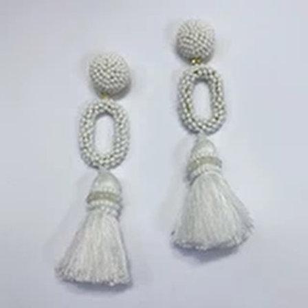 Fringy Beaded Earrings