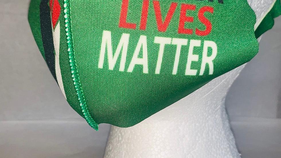 Kids Green Black Lives Matter Mask