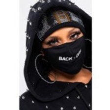 """""""Back Off"""" Mask"""