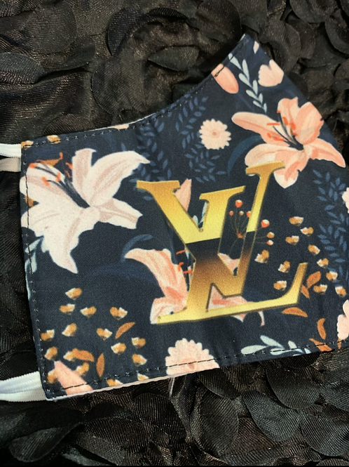 Lily LV Inspired Mask