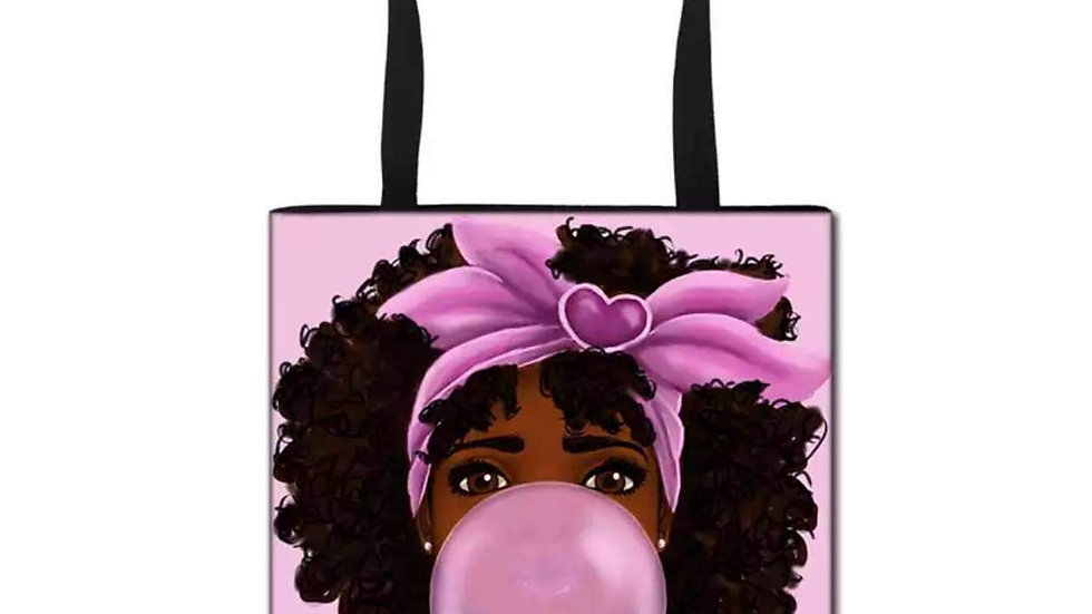 Bubble gum tote Bag