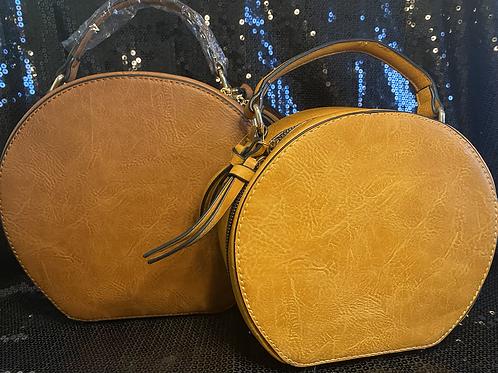 2 in 1 Circle Crossbody Bag
