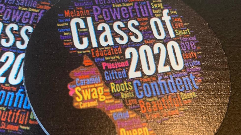 Class of 2020 Wooden Earrings