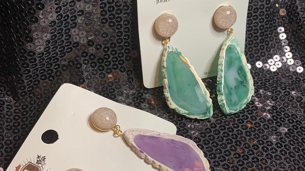 Gemrock Drop Earrings