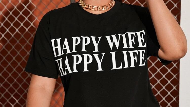 Happy Wife Life Tee