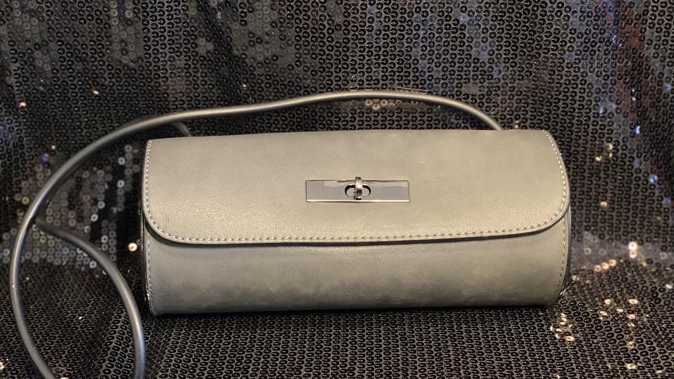 Faux Leather Wire Handbag