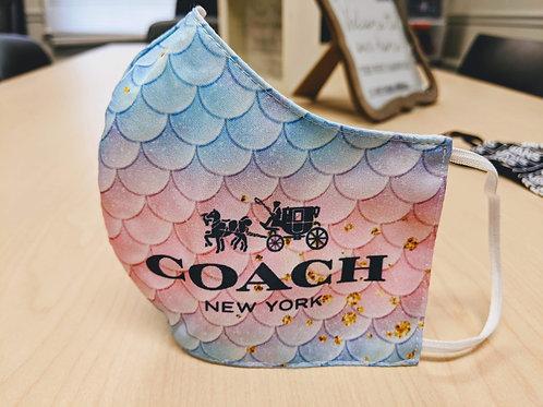 Coach Inspired Mermaid Mask