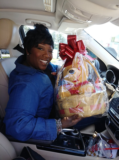 Easter Baskets-Celebrity Client (Wanda Smith from V-103)