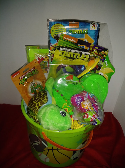 Easter Baskets (Ninja Turtle, Frozen, Hell Kitty, Paw Patrol, Minions