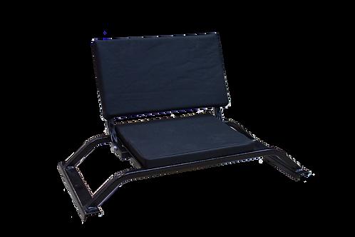 Сиденье поперечное со складной спинкой