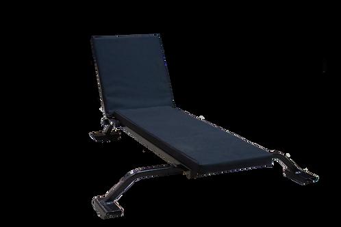 Сиденье продольное со спинкой