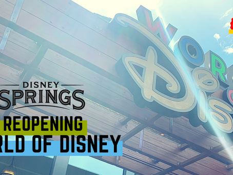 World of Disney Reopens at Disney Springs