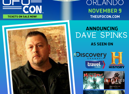 My Interview with Paranormal Investigator, Dave Spinks from TV Show, The UnXplained