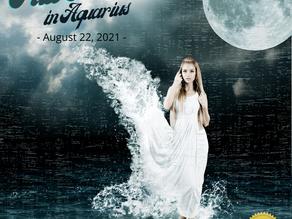 Today's Full Moon in Aquarius