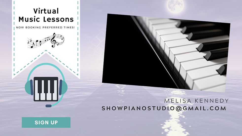 virtual piano lessons teacher online rem
