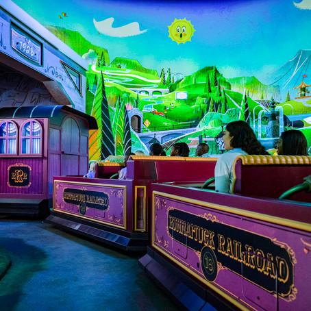 Mickey & Minnie's Runaway Railway – Fun Facts