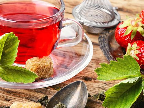 Sweet Strawberry Tea