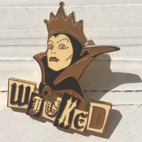 Evil Queen Wicked Trading Pin