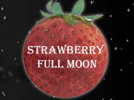 June 24: Strawberry Full Moon