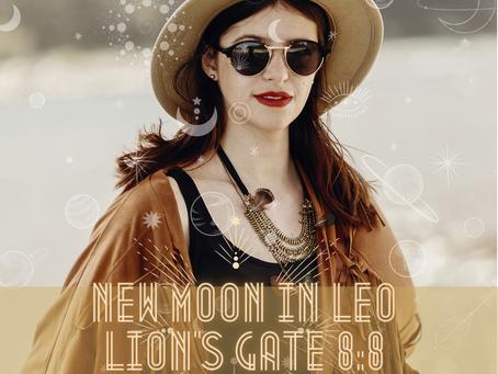 New Moon Pt. 3, Lion's Gate ☾