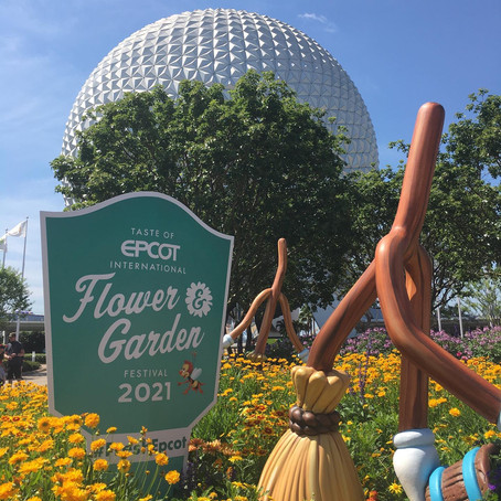 2021 Epcot Flower & Garden Festival 🌐🌸