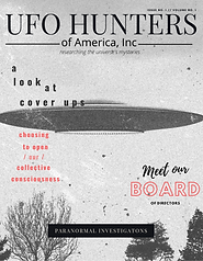 UFO Hunters of America Magazine