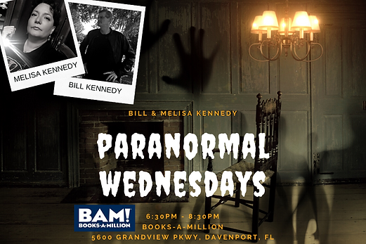 paranormalwednesdays melisa bill kennedy