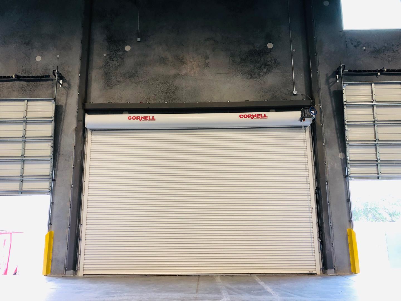 Rolling Dock Door
