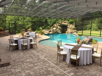 Poolside Bridal Shower
