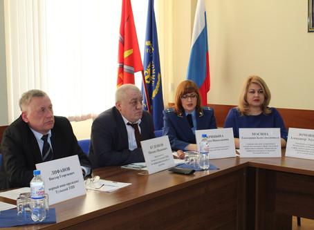6.12.19 состоялось расширенное совещание- Комитет по экологии Тульской ТПП «Национальный проект «Эко
