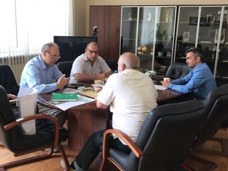 Встреча председателя правления «Российского Центра экологической политики и культуры» с генеральным