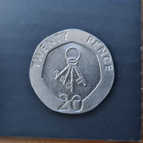 Gibraltar Keys 20p - 2010