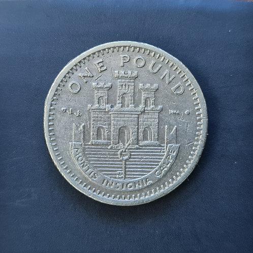 Gibraltar Moorish Castle £1 - 2000