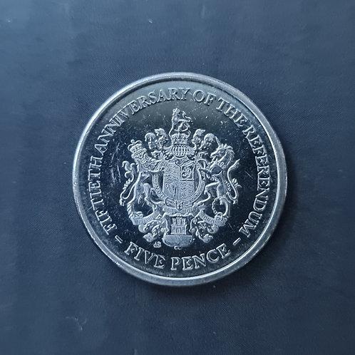 Gibraltar Referendum 5p - 2017
