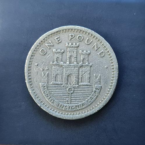 Gibraltar Moorish Castle £1 - 1997
