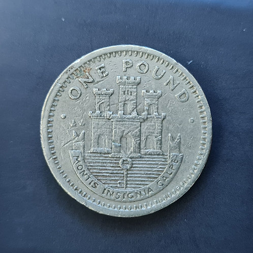 Gibraltar Moorish Castle £1 - 1993