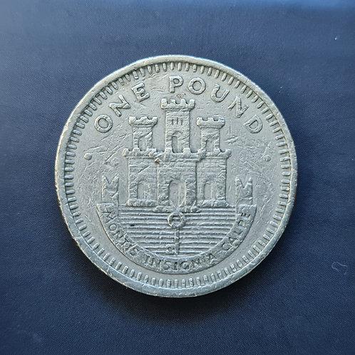 Gibraltar Moorish Castle £1 - 1991