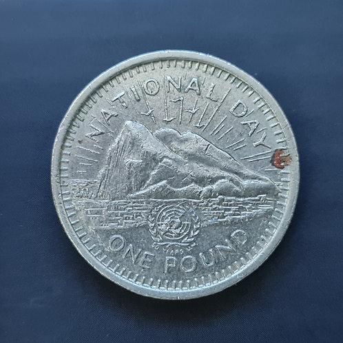Gibraltar National Day £1 - 1995