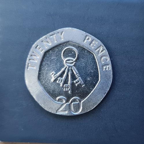 Gibraltar Keys 20p - 2007