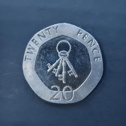 Gibraltar Keys 20p - 2011